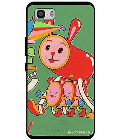 Amazon.com: Silicone Case Happy Salami ASUS Zenfone 3 S Max ...