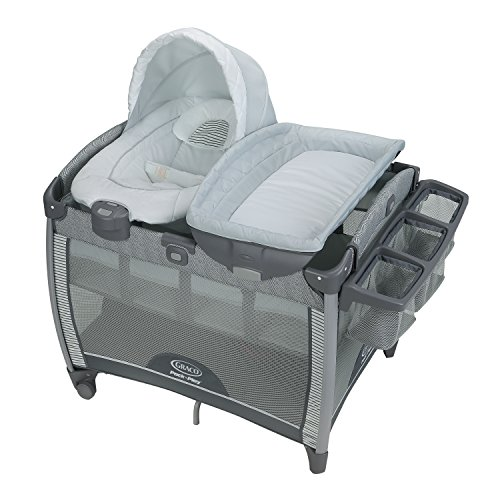 Graco Pack 'n Play Quick Connect Playard and Removable Portable Bouncer, Raleigh