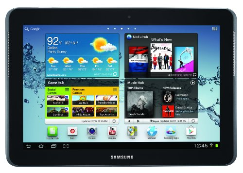 Samsung Galaxy Sprint Tab 2 10.1-Inch tablet (1.5 GHz Dual-Core processor, 8 GB Internal memory, Android 4.0 Ice Cream Sandwich, SPH-P500TSASPR) by Samsung