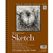 3M STR-455-4 100 Sheet Strathmore Sketch Pad, 11 by 14""