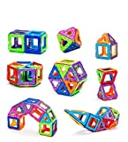 ToyTree 20 Piece Magical Magnetic Puzzle Building Blocks Construction Learning Educational Toy Set for Toddlers / Kids