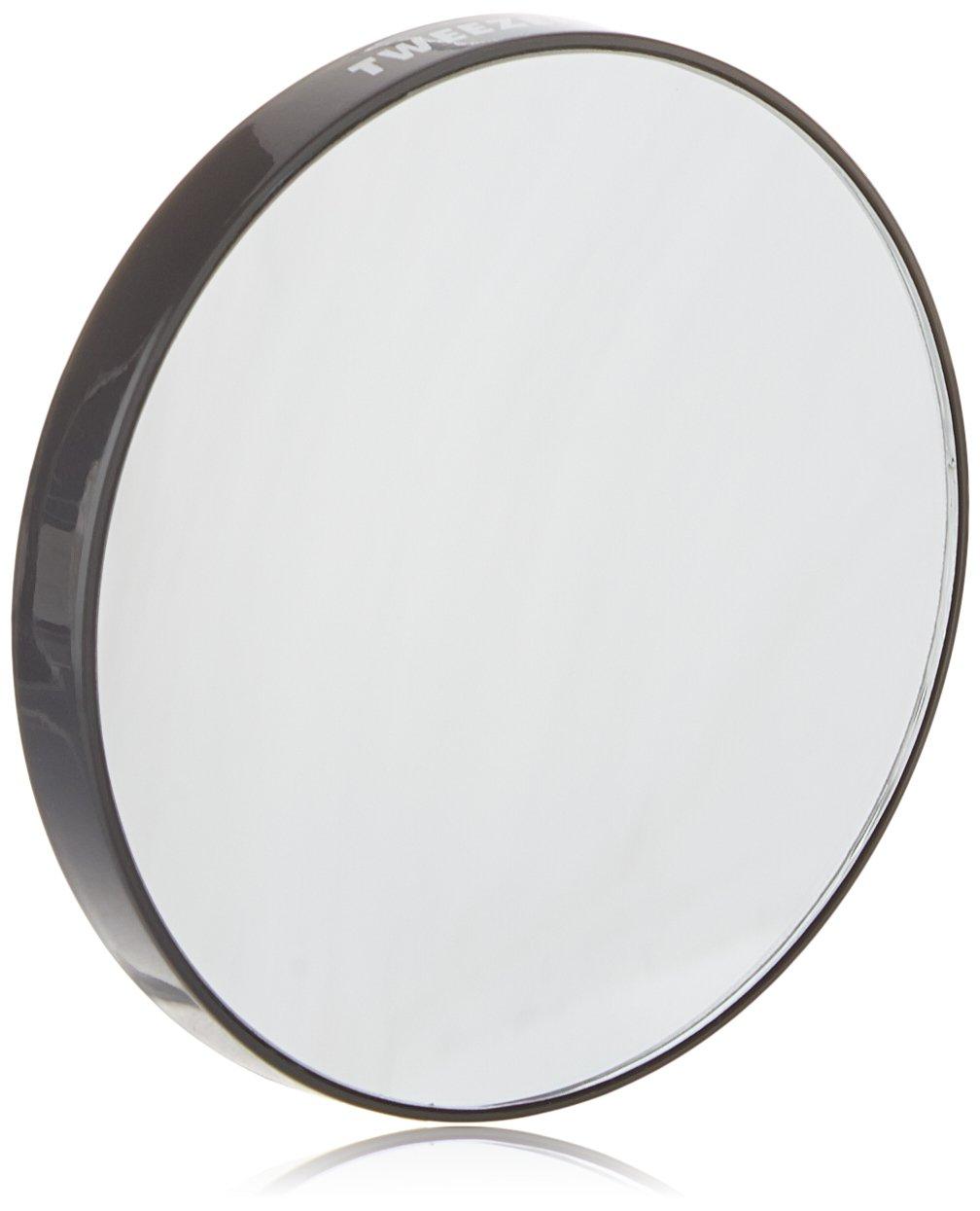 Amazon Com Tweezerman Led 15x Lighted Mirror Personal