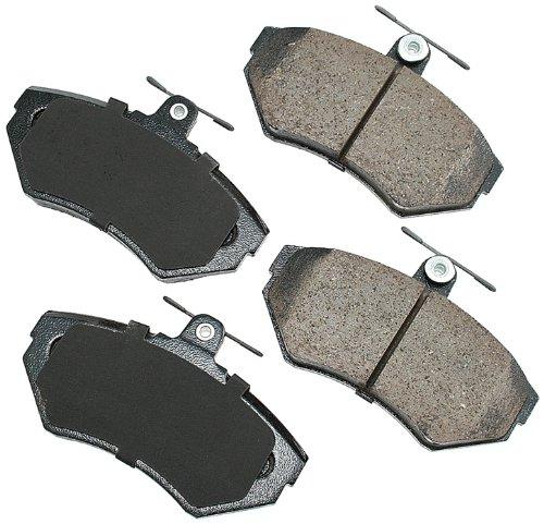 Akebono EUR704 EURO Ultra-Premium Ceramic Brake Pad Set