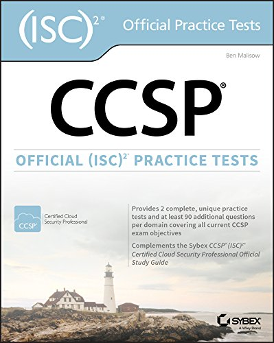 CCSP Official (ISC)2 Practice Tests (Best Cism Study Guide)