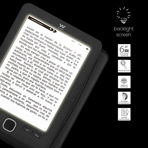 Woxter Scriba 195 Paperlight Black - Lector de Libros electrónicos ...