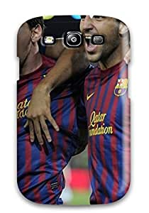 Excellent Design Messi Fabregas Abidal Football Phone Case For Galaxy S3 Premium Tpu Case by supermalls
