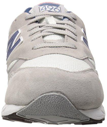 New Balance Mens Cm496 Classic 80 Running Running Scarpa Grigio / Bianco