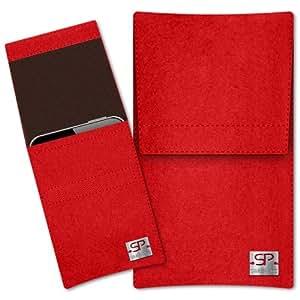 SIMON PIKE Cáscara Funda de móvil NewYork 10 rojo OPPO R3 Fieltro de lana