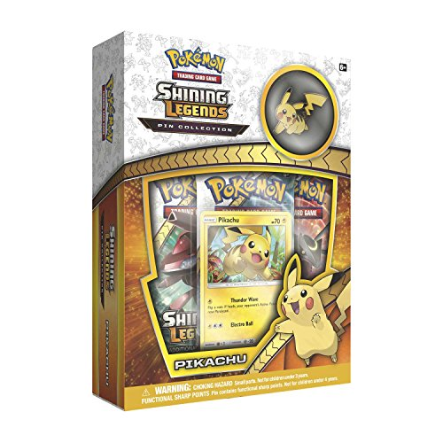Pokemon SM3.5 Shining Legends Pikachu Pin Box Toy,