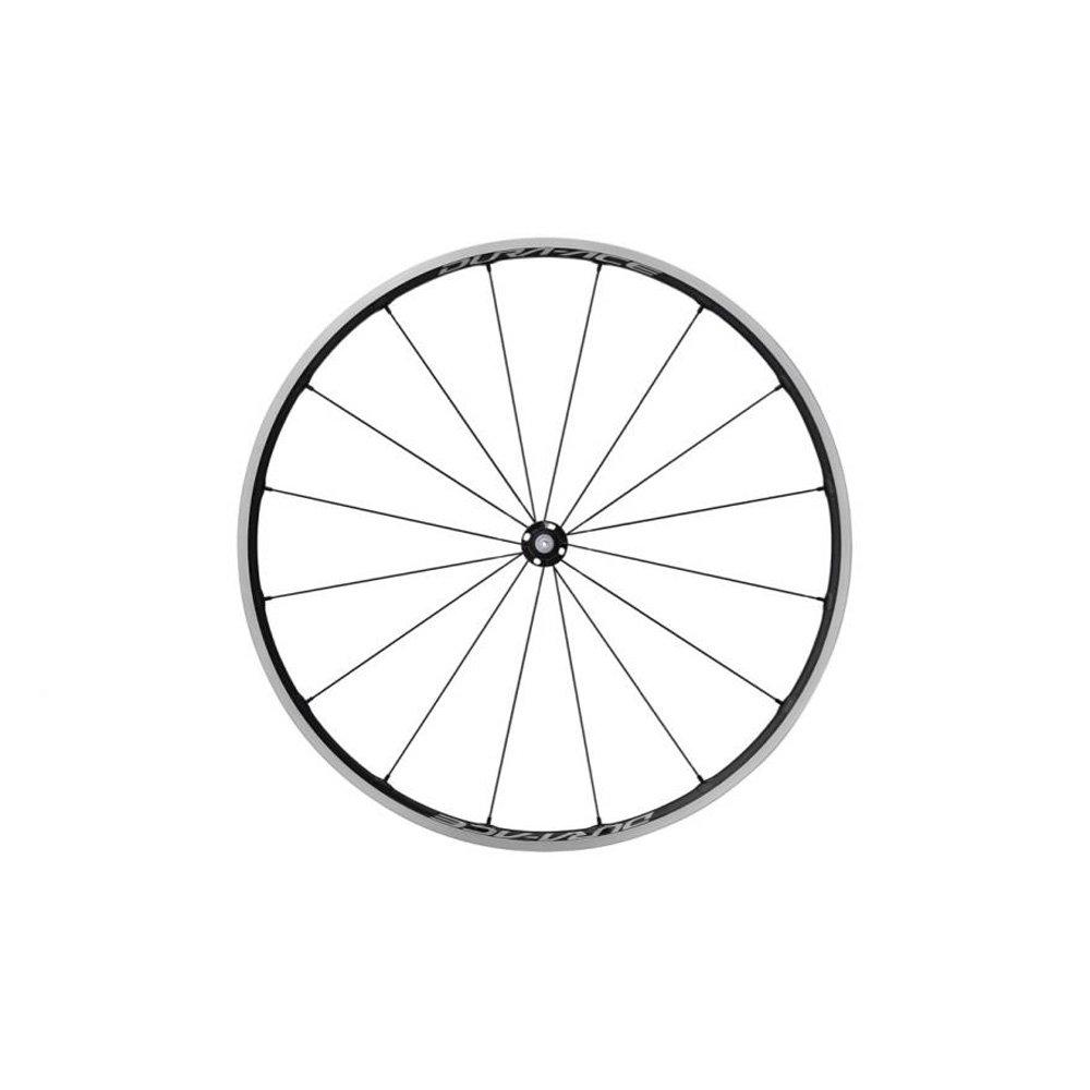Shimanoサイクリングホイール、wh-r9100-c24-clフロント16h、カーボンラミネートリム(W/リムテープクリンチャー、Old : 100 mm W/Oホイールバッグ、シングル100 QR、W/Oホイールバッグ – ewhr9100 C24fcy B01LVWHELM