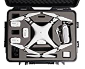 Blurex Rugged Hard Case For DJI Phantom 3 Advanced & DJI Phantom 3 Professional Quadcopter Drone