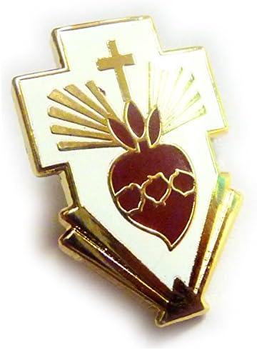 Sagrado corazón de Jesús Cristo Cruz católica cristiana sombrero ...