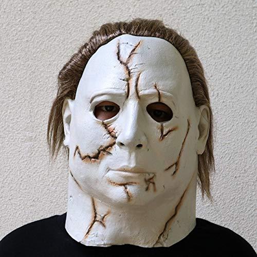 WasJmu 1 Hot Movie Cos Mask Horror Michael Myers Mask ...