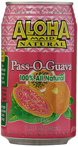 Aloha Maid Guava  11 50 Ounce  Pack Of 24