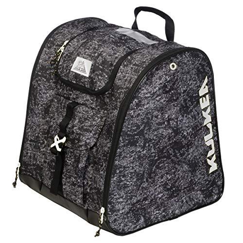 KULKEA Talvi X Ski Boot Bag - Black/Grey/White
