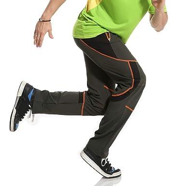 a3313b801d753d ODRD Männer Yoga Hosen Herren Pants Im Freien schnell trocknende Herrenhose  Lässige Atmungsaktive Hose Komfortable Laufhose