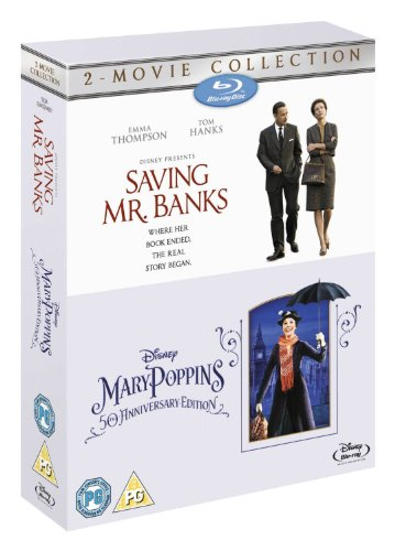 Saving Mr Banks & Mary Poppins Double Pack [Blu-ray]