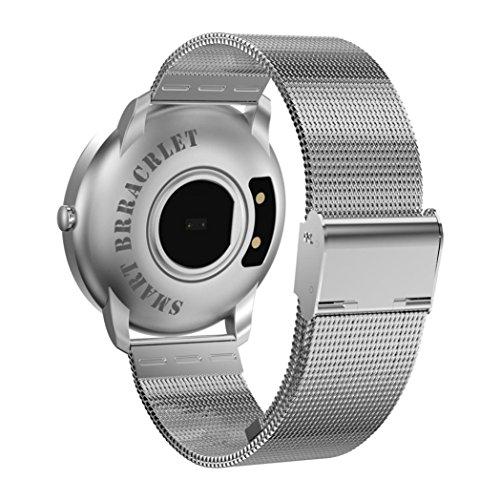 Fuibo Smartwatch, Fitness Tracker Blutdruck Pulsmesser..