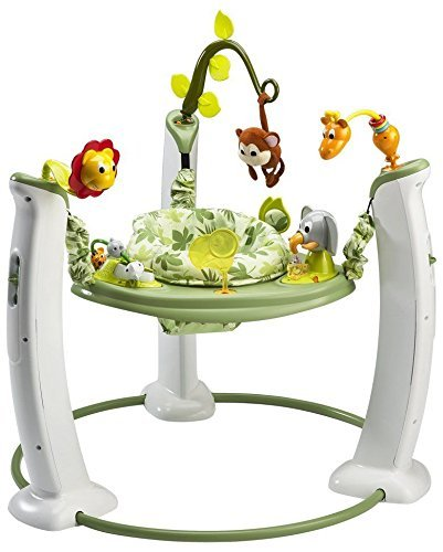 Evenflo Exersaucer Safari Friends Jumperoo Activity Gym