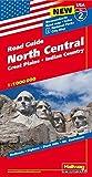 Hallwag USA Road Guide 02 North Central 1 : 1.000.000: Great Plains, Indian Country (Hallwag Strassenkarten, Band 2)