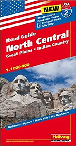 Hallwag USA Road Guide 02 North Central 1 : 1.000.000: Great ...