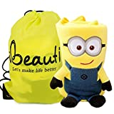 "Ibeauti ""Minions"" Throw Blankets, Portable Cute Fleece Air Conditioning Blanket for Baby,Kids,Office Ladies,32.3"" * 27.6"""