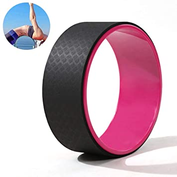 CWDXD Rueda Yoga para Rueda de Yoga Pilates Roller ...
