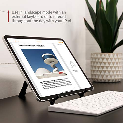 Twelve South Compass Pro for iPad | Portable Display Stand with 3 Viewing/Typing Angles iPad and iPad Pro by Twelve South (Image #3)