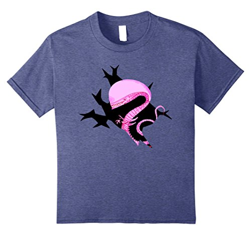 Kids Bustin' Out Xenomorph T-Shirt- Easy Halloween Costume 2017 10 Heather (Great Costumes For Halloween 2017)