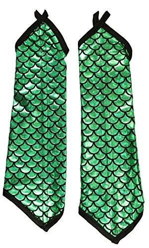 Adult Halloween Costume Accessory - Mermaid Arm Sleeves (Mermaid Costumes Accessories)