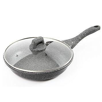 JANSUDY Sartenes Para El Hogar Sartenes Antiadherentes Filetes Fritos Los Huevos Se Pueden Usar En Estufas De Gas/Cocinas De InduccióN: Amazon.es: Hogar