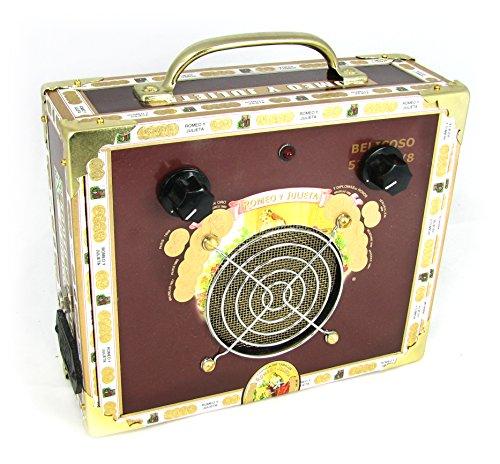 Cigar Box Guitar Amplifier-Romeo and Julietta