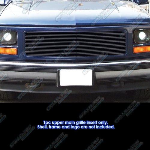 APS for 94-98 GMC C/K Pickup/94-99 Suburban/Yukon Single Lights Black Billet Grille #N19-H27256G (Suburban Yukon Billet Grille)