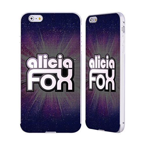 Official WWE LED Logotype Alicia Fox Silver Aluminum Bumper Slider Case for Apple iPhone 6 Plus / iPhone 6s - Silver Alicia
