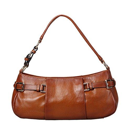 AINIMOER-Womens-Leather-Soft-Zipper-Top-handle-Tote-Shoulder-Messenger-Bag-Cross-Body-Vintage-Handbag