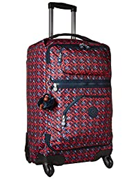 Darcey Small Printed Wheeled Luggage Carry On Bag, Groovy Lines, One Size