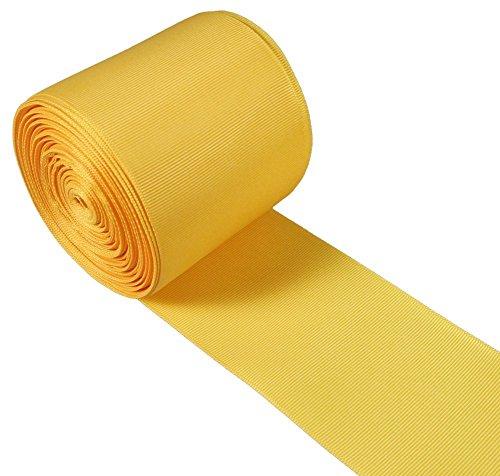 Yellow Gold Grosgrain Ribbon - 4