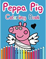 Peppa Pig Coloring Book: 60 Unique Designs of Peppa Pig with Exclusive Unofficial Images for Children of All Ages