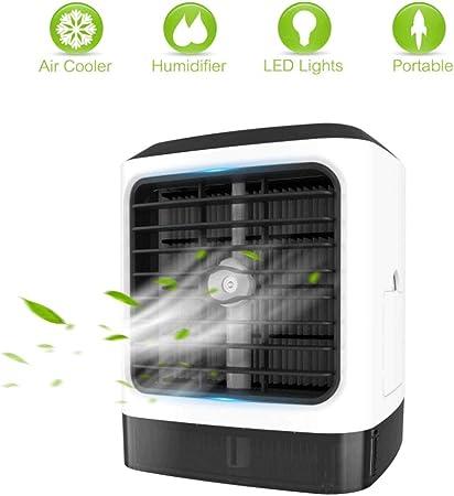 Mkllop Ventilador de Aire Acondicionado portátil, purificador de ...