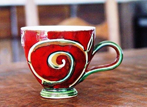 Pottery Tea Mug, Coffee Mug, Handmade Ceramic Mug