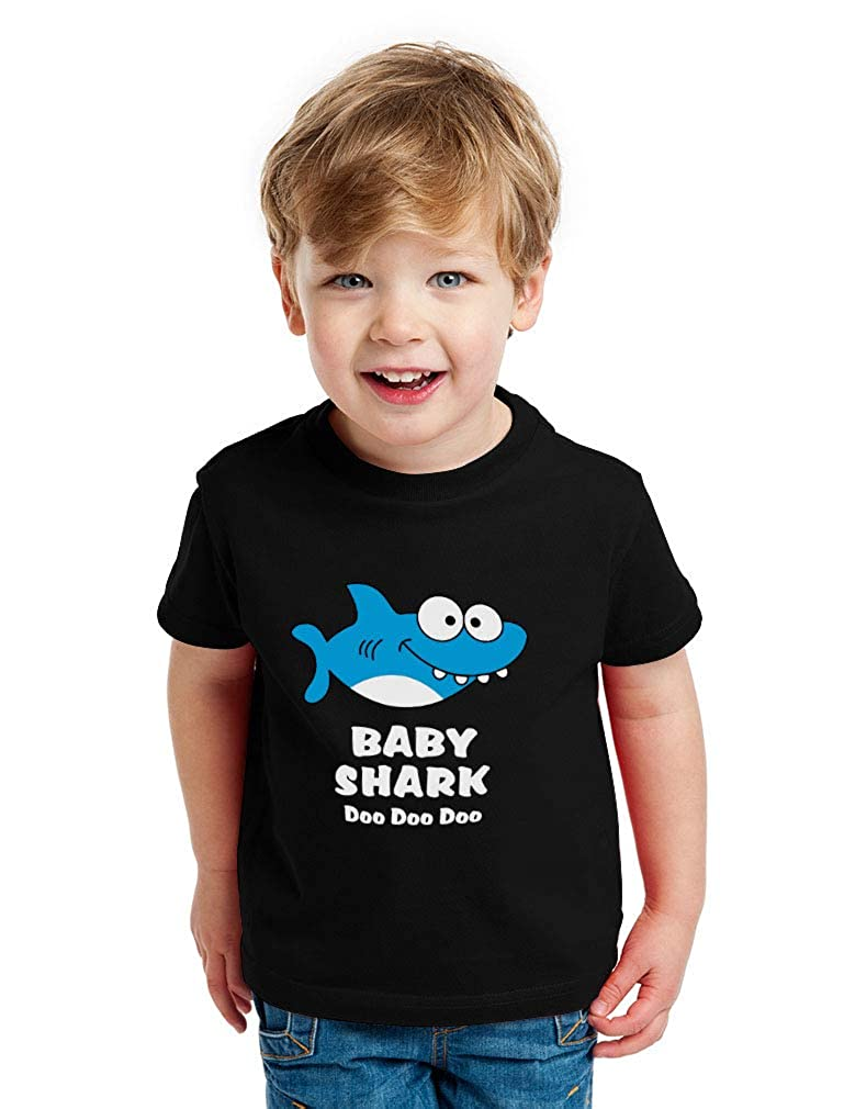 Baby Shark Song Doo doo doo Family Dance for Boy Girl Toddler Kids T-Shirt