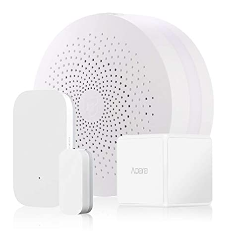 Kit de seguridad para Xiaomi Aqara Smart Home 3,alarmas para el Smart Gateway, controlador de cubo Aqara Magic, Aqara Sensor de puertas y ...