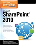 img - for How to Do Everything Microsoft SharePoint 2010 book / textbook / text book