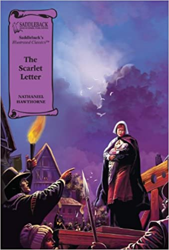 amazoncom the scarlet letter saddleback illustrated classics 9781562549367 nathaniel hawthorne books