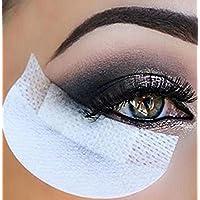 Wetieyi 20Pcs Disposable Eyeshadow Stickers Eyelash Extension Blotting Paper