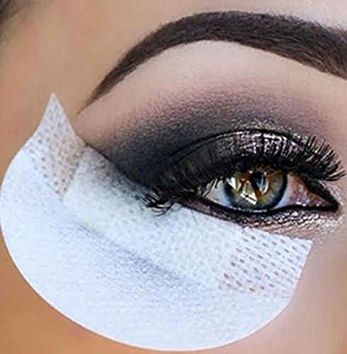 20Pcs Eye Shadow Stickers Eyelash Extension Disposable Non-woven Makeup Tool Huertuer
