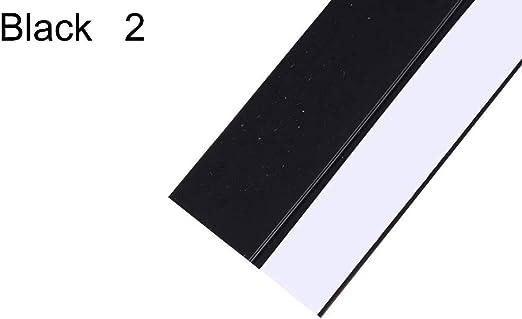 FINIVE - Tira de Sellado para mampara de Ducha (5 m, Silicona), Silicona, Negro, 2: Amazon.es: Hogar