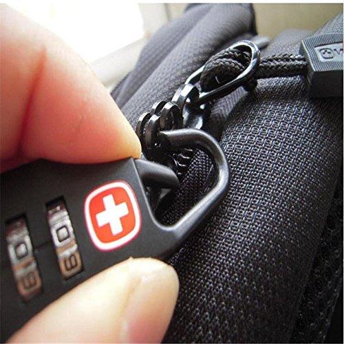 EPNT Mini cadenas de s/écurit/é antivol pour bagage avec mot de passe pour valise en plein air