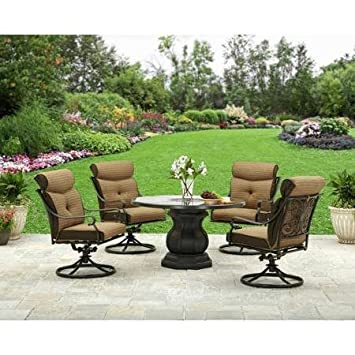 Amazoncom Better Homes and Gardens Bailey Ridge 5pc Dining Set