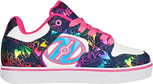 HEELYS MOTION PLUS Schuh 2018 white/denim/rainbow foil, 36.5